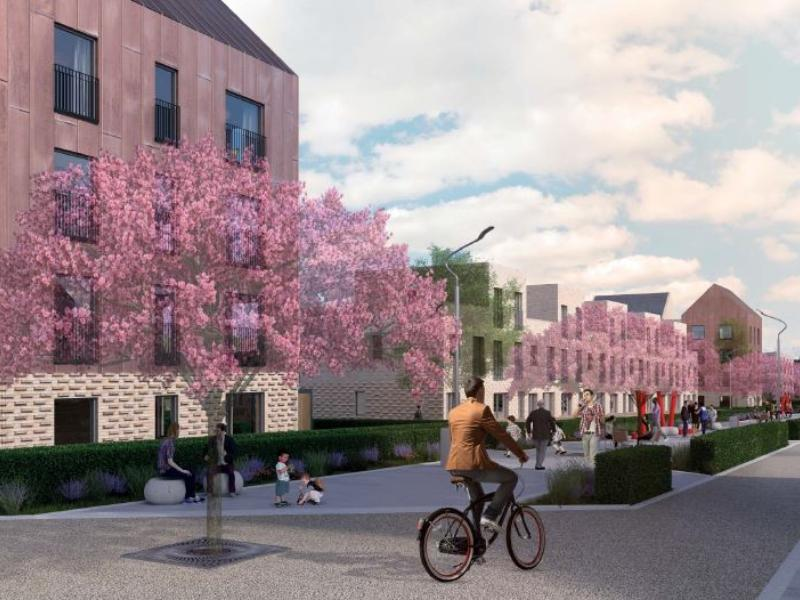 Work begins on 824 new homes in Sighthill as part of the £250million regeneration of the area