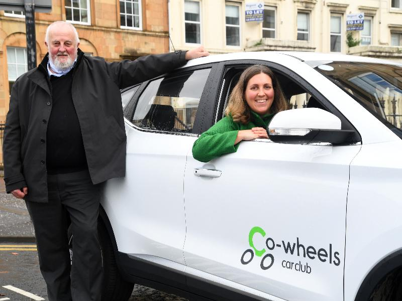 Co Wheels - Cllr R and Tony Archer