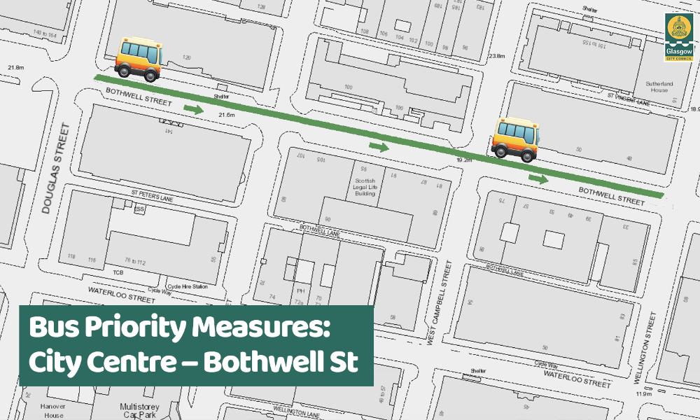 Bothwell St (Bus Priority)