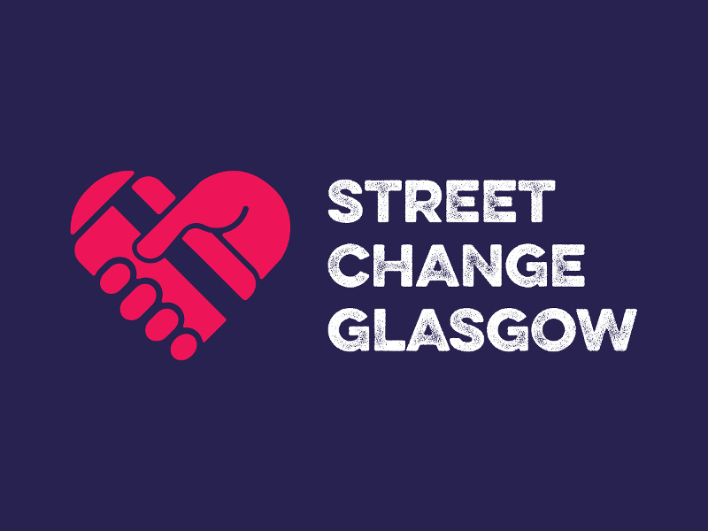 Street Change Glasgow logo Displays a larger version of this image in a new browser window