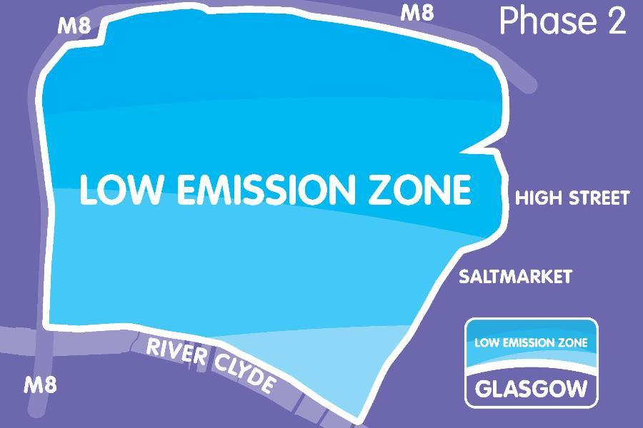 LEZ Phase 2 map