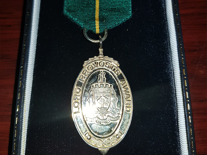 Lord Provost Awards Medal