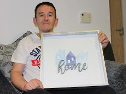 Derek Bradford - formerly Homeless case study Displays a larger version of this image in a new browser window