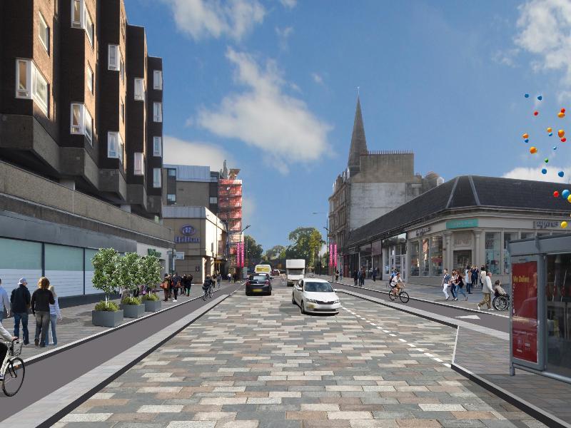 Byres Road public realm designs revised