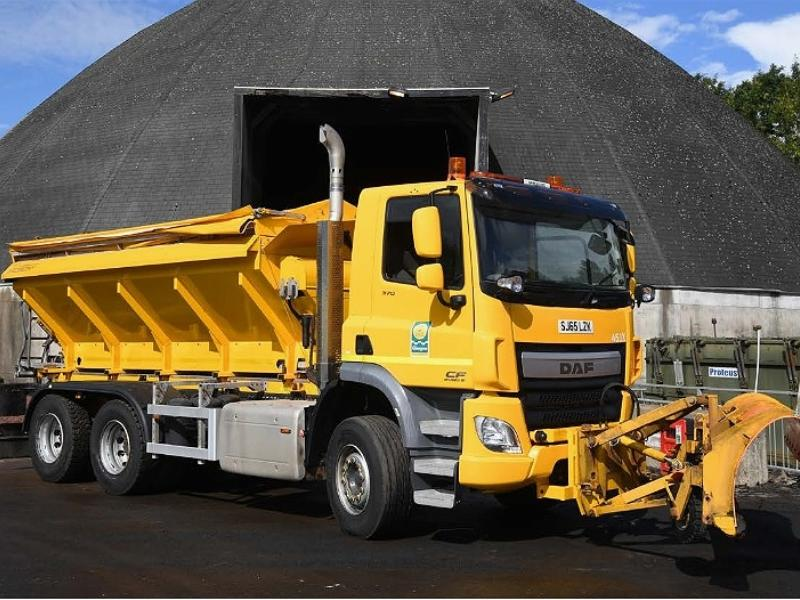 gritter in depot
