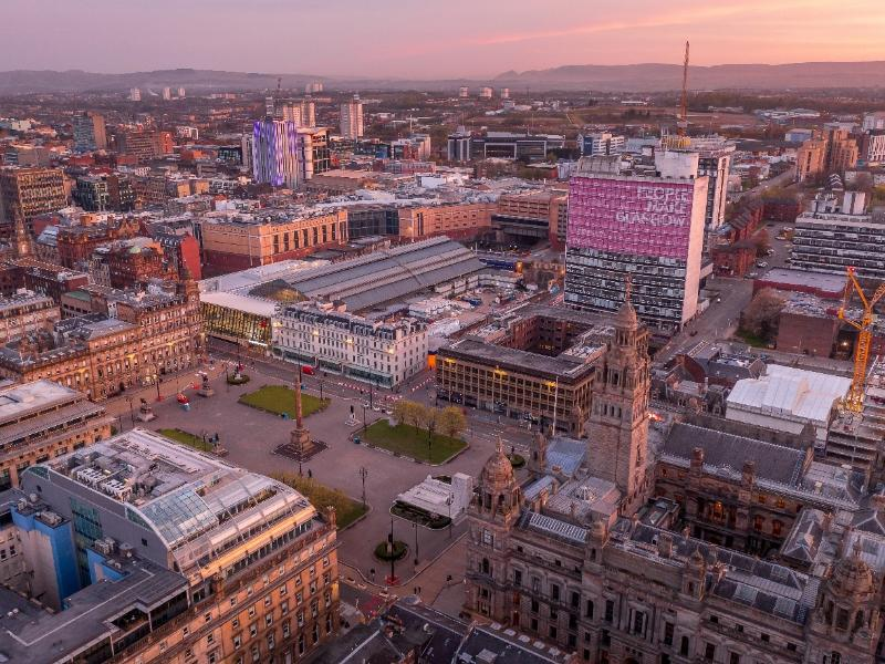 Glasgow launches £30bn 'Greenprint for Investment', a portfolio of transformative climate investment projects to boost 2030 Net-Zero goal