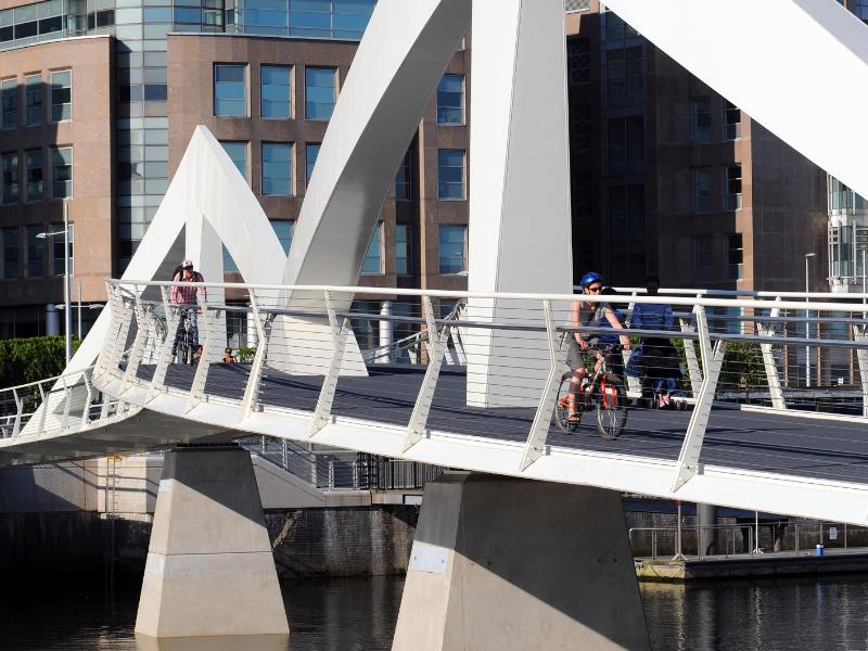 Council and Barclays to work together on Tradeston Bridge and public realm