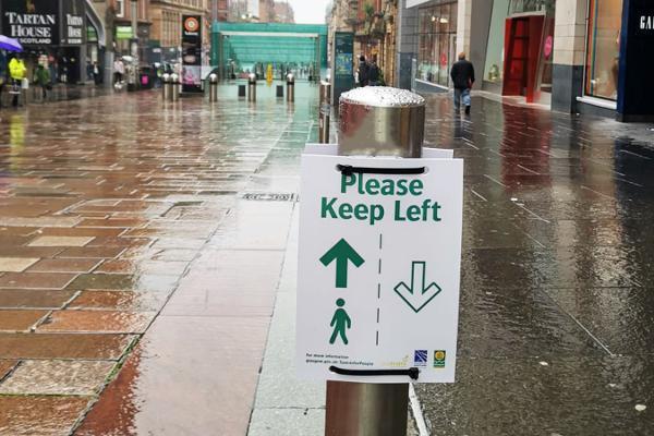 Keep Left Buchanan St
