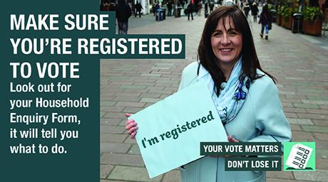 Register to Vote 2017