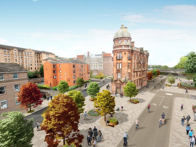 Consultation begins on four DRFs in Glasgow city centre