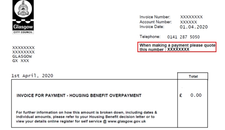 Housing Benefit Overpayment