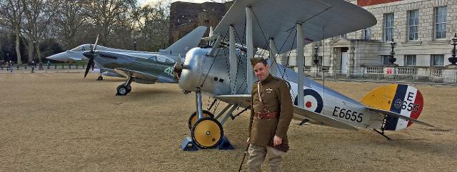 The RAF100 aircraft tour