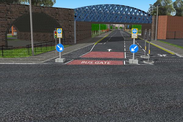 Gorbal St Bus Lane 1