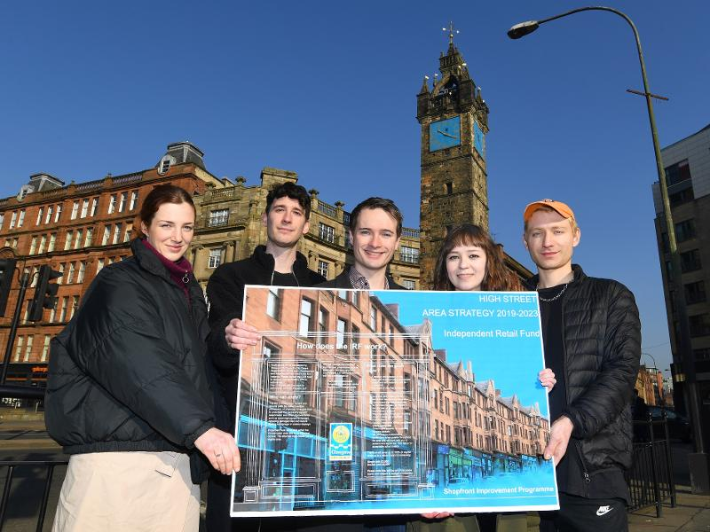 Fund will support independent shops on Glasgow's historic High Street