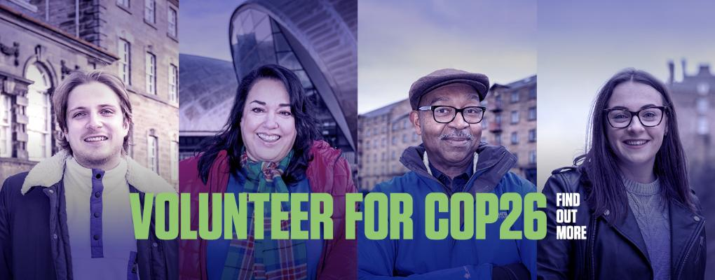 Volunteer for COP26 : This link opens in a new window