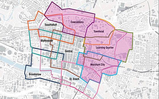 City Centre Boundary Map