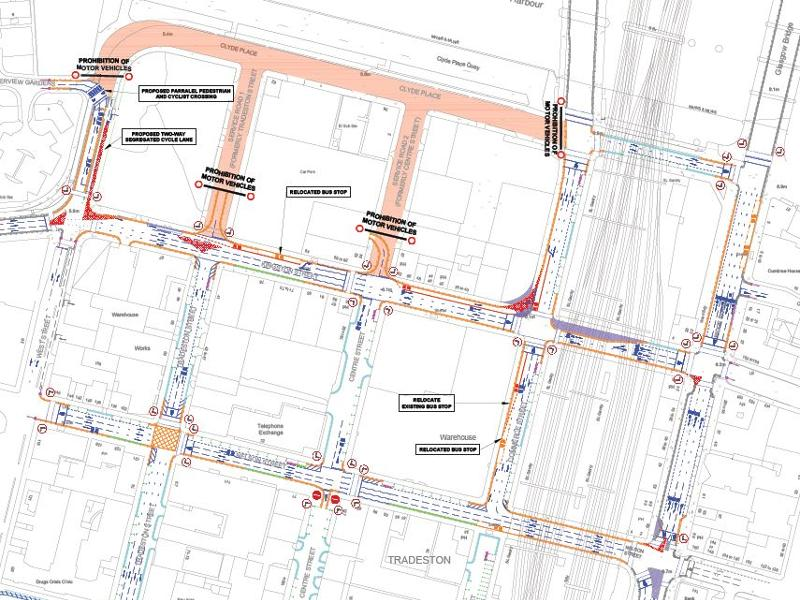 Clyde Place to close to traffic from 1 October
