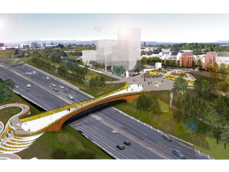 Demolition work on existing M8 bridge at Sighthill to begin