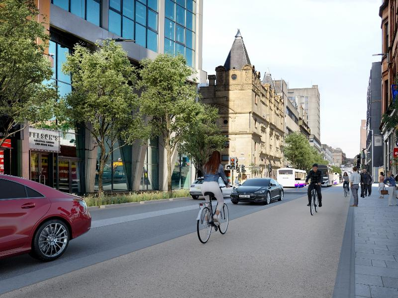 Consultations begin on next phase of Avenues in Glasgow city centre