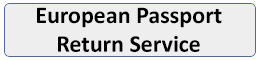 European Passport Return Service button