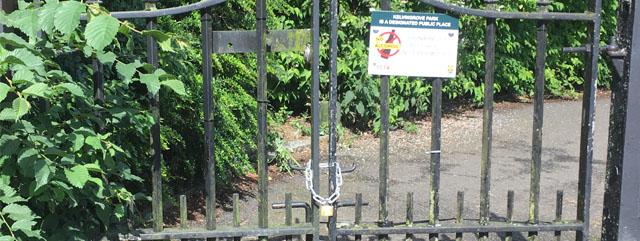 Kelvingrove Locked Gates
