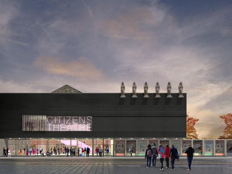 Council funding to allow work to begin on Citizens Theatre redevelopment