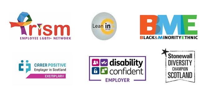 Diversity logos