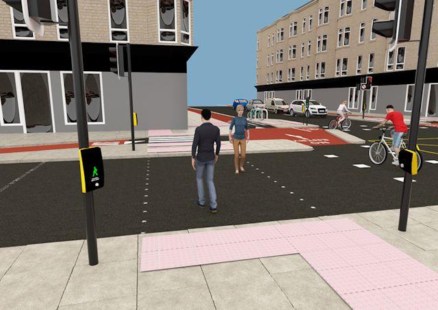 Guide for pedestrians