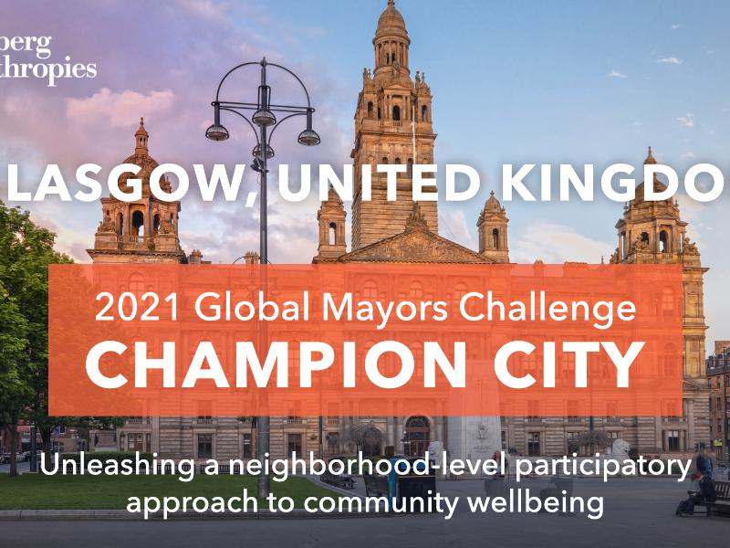 Glasgow a finalist in global Bloomberg challenge