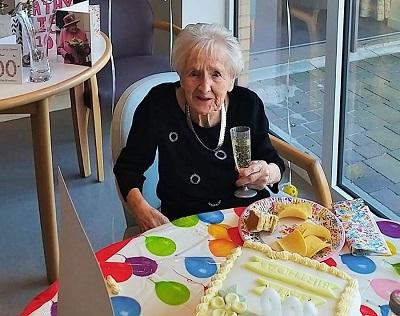 Catherine Craigie celebrates her 100th birthday